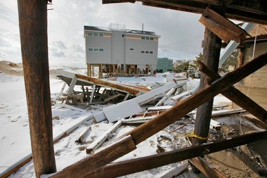 These homes in Beach Haven were among those destroyed by Sandy.