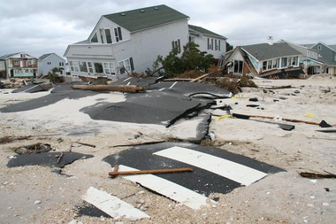 Ortley Beach is one of the towns devastated by Hurricane Sandy. Dozens of local charities have sprung up to help victims.