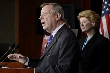 U.S. Sen. Dick Durbin (D-Ill.)said a bill that would require prospective citizen to document that they were in the country before Dec. 31, 2011 and have a clean criminal record would be introduced on Tuesday.