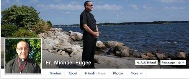 A screenshot of the Rev. Michael Fugee's Facebook page