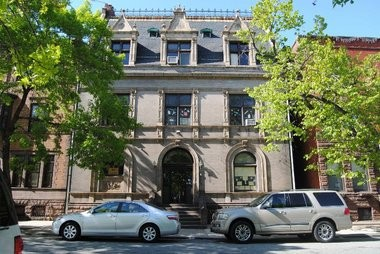 Women in Support of the Million Man March's headquarters are located in this mansion on 53 Lincoln Park in Newark. Adelaide L. Sanford Charter School used to hold classes here.