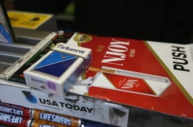 Cigarettes sold at newsstands and in stores in New York City are subject to higher taxes but a stroll through the city recently found many discarded packs had stamps from low-tax Virginia or no stamp at all.