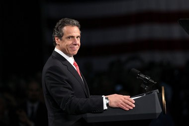 N.Y. Gov. Andrew Cuomo said in a radio interview that the charges should energize New Yorkers to back his latest reforms, which include public financing of campaigns and what he would consider an independent enforcement headed by his appointee, with Senate confirmation.