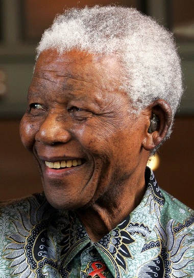 Nelson Mandela, seen here in 2007, served as South Africa's first black president.