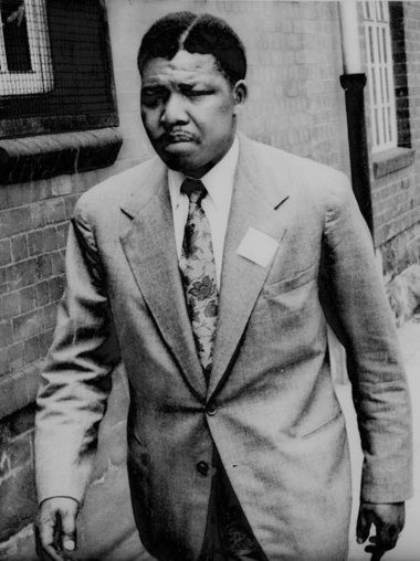 Nelson Mandela at age 42 in 1962. His work for the African National Congress would soon lead to his long imprisonment.