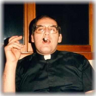The Rev. John Capparelli in a photo from the 1980s at a Boy Scout camp in New York