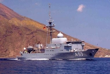 The House Homeland Security Committee will hold a heaving on domestic security implications of a proposed U.S. military strike on Syria. This photo of a German surveillance vessel was provided by the Bundesmarine, or German navy, following reports that Germany had picked up conversations among Syrian military officials involving the use of chemical weapons.