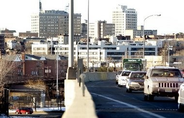 The shoulder of the New Jersey Turnpike Extension in Hudson County will be opened as an extra lane to help with traffic during the two years the Pulaski Skyway is closed in one direction for a major rehabilitation.