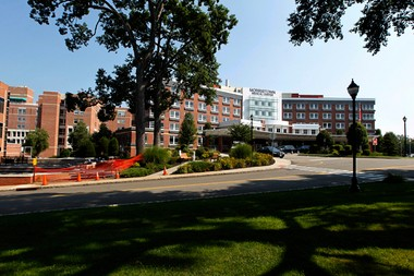 The New Jersey Department of Health is reviewing a request from Atlantic Health, the parent company for Morristown Medical Center, above, to buy Chilton Hospital in Pompton Plains.