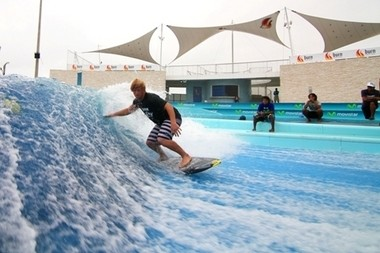 The world's largest wave pool is part of the proposed expansion of the stalled American Dream complex.