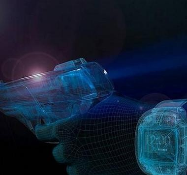 The German-based Armatix says it has a new handgun that will only fire if it is within range of a wristwatch worn by the owner.