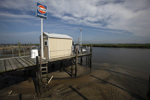 The future of the small vacation and fishing village of Fortescue in Cumberland County remains in question following Hurricane Sandy.