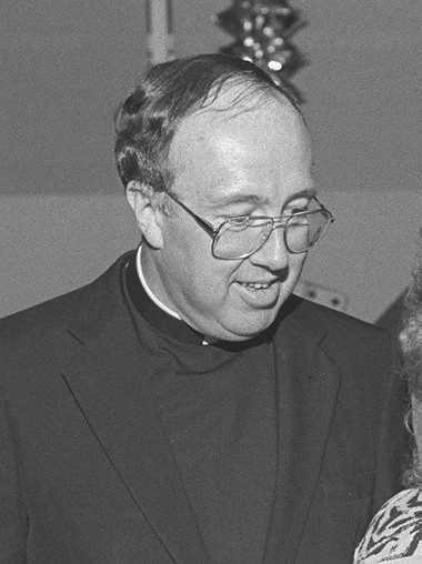 The Rev. Eugene Heyndricks, seen here in 1990, pleaded guilty to soliciting sex from an underage prostitute in Montreal. He was later placed at the retirement home for priests in Rutherford. Heyndricks has since died.
