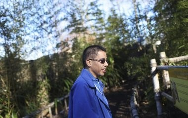 Marshall Pires, shown here volunteering at the Turtle Back Zoo, now enjoys a life free from seizures.
