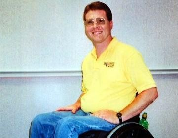"""""""Nothing like that will ever happen to me,"""" Rusty Burris thought as a teenager. Paralyzed after a car accident, Burris went on to counsel students on the dangers of drowsy driving."""
