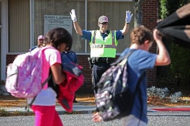 More K-8 children are walking to and from school, a new national survey shows.