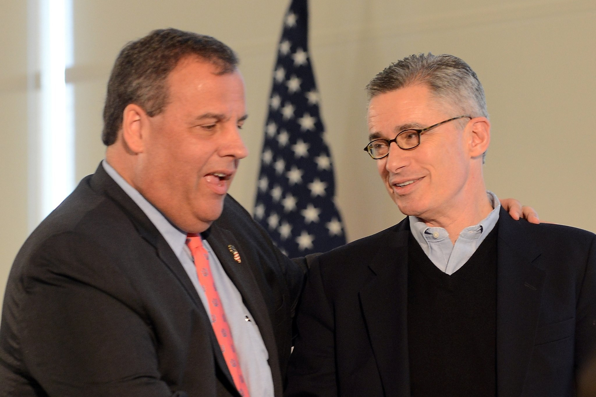 McGreevey finds a new stage, a...