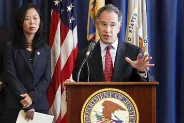 New Jersey U.S. Attorney Paul Fishman announced the arrest of North Bergen contractor Victor Coca, 48, on charges that he bribed a West New York fire official to eliminate nearly $9 million in fines on two buildings.