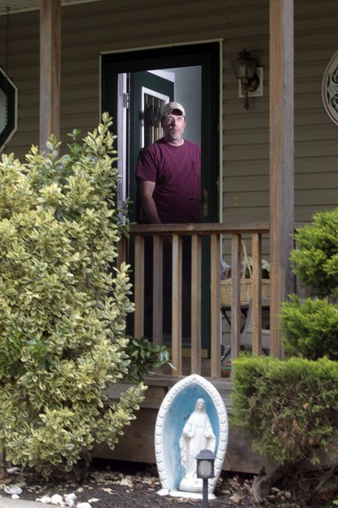 Chris Naples, seen here at his New Gretna home earlier this year, said the Diocese of Trenton should publicly acknowledge it allowed an alleged molester to remain in ministry. (Ed Murray   NJ Advance Media for NJ.com)