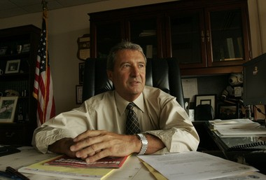 Former Passaic County Prosecutor James Avigliano discusses the death of Geetha Angara in a 2005 interview with The Star-Ledger. (File Photo)