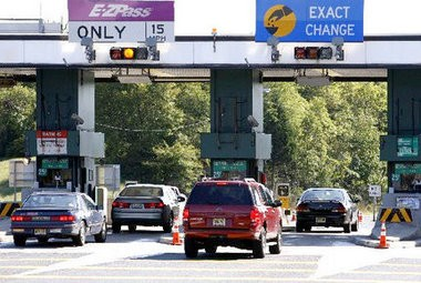 The Keyport-Hazlet toll booth entrance to the Garden State Parkway is seen in this 2010 NJ Advance Media file photo.