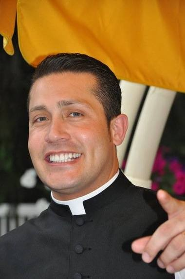 The Rev. Alex Orozco said it was a mistake to take cash and gifts from parishioners when he served at St. Rose of Lima Church in Short Hills. He is now assigned to the Church of the Nativity in Midland Park. (Facebook photo)