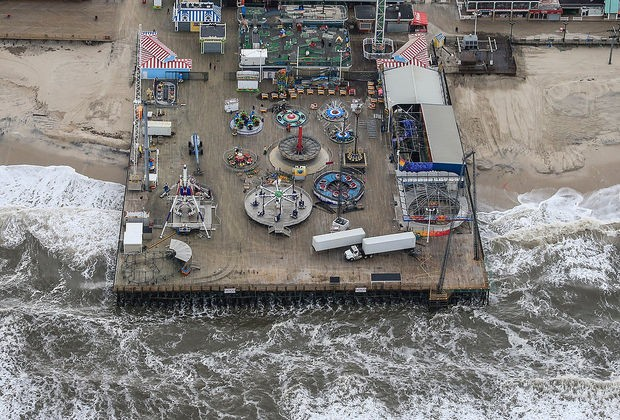 Casino Pier in Seaside Heights Monday afternoon. ()Andrew Mills   NJ Advance Media for NJ.com