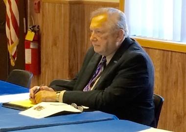 Herb Worthington listens to testimony at a recent public hearing on veterans with PTSD. (Tim Darragh | NJ Advance Media)