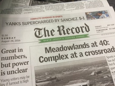 Gannett announced new leadership for The Record after purchasing the newspaper group in July.