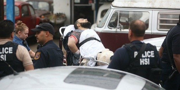Ahmad Khan Rahami was arrested in Linden after a shootout with police on Sept. 19, 2016. (Ed Murray   NJ Advance Media for NJ.com)