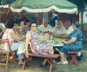 Backyard barbecues are a summertime tradition for families.