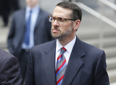 David Wildstein, who guilty to his role in the politically-motivated closure of local access lanes to the George Washington Bridge. (Patti Sapone | NJ Advance Media for NJ.com)