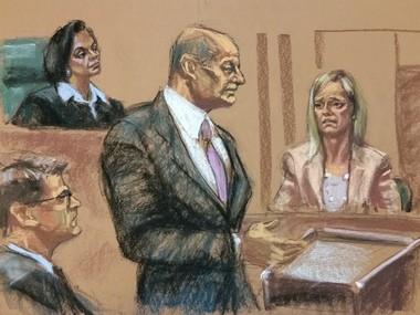Bridget Kelly testifies in her own defense in federal court in Newark. (Jane Rosenberg | For NJ.com)