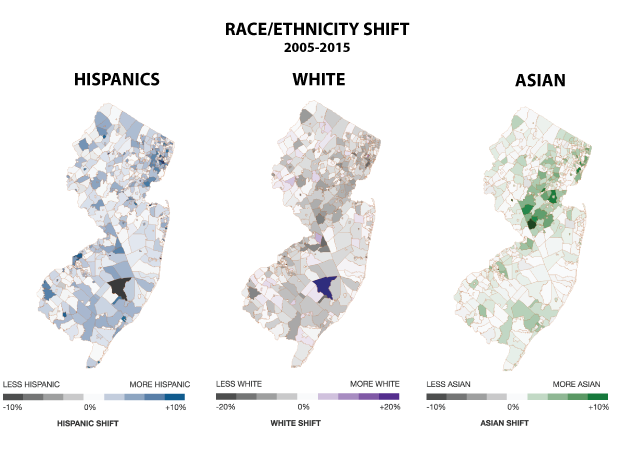 Whites flee the state as Asian and Hispanic population booms.