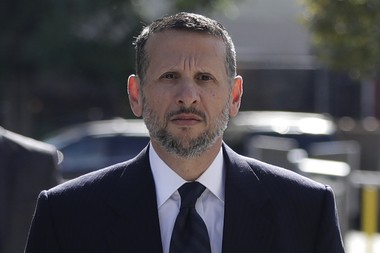 David Wildstein, who testified that the Port Authority funding for the Essex County park was intended to secure an endorsement for the governor. (Julio Cortez | AP file photo)