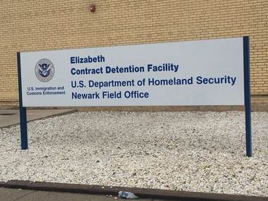 The Elizabeth Detention Center, a private prison under contract with U.S. Immigration and Customs Enforcement that holds immigrants awaiting removal or asylum proceedings. (Marisa Iati | NJ Advance Media for NJ.com)