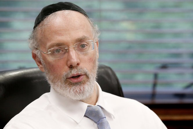 Rabbi Aaron Kotler, president of Beth Medrash Govoha, is also a key leader in Lakewood's Jewish community. (Aristide Economopoulos   NJ Advance Media for NJ.com)