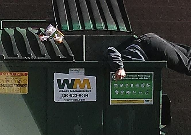 Inside N J 's secret society of dumpster divers and its