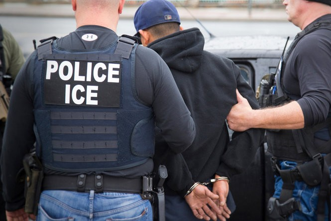 Courthouse arrests by U.S. Immigration and Customs Enforcement are sparking concerns by judicial officials and immigration advocates. (U.S. Immigration and Customs Enforcement file photo via AP)