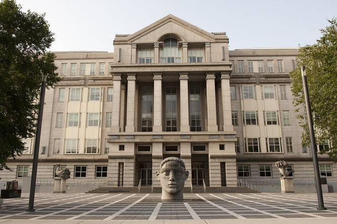 The federal courthouse in Newark. (Reena Rose Sibayan | Jersey Journal file photo)