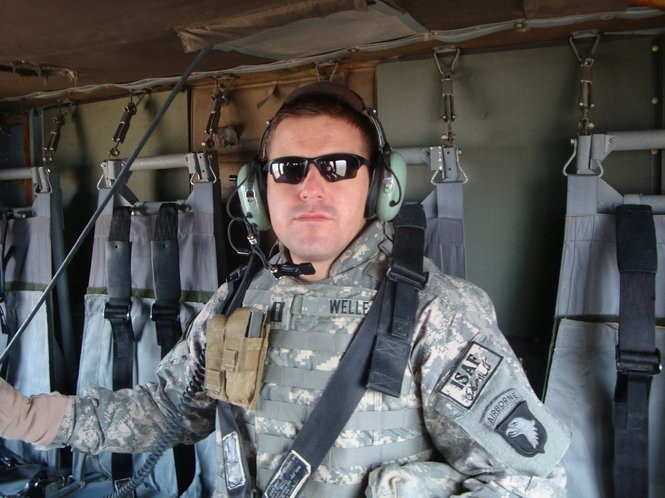 Josh Welle, a retired U.S. Navy Commander, is running for Democratic nomination in the 4th Congressional District.
