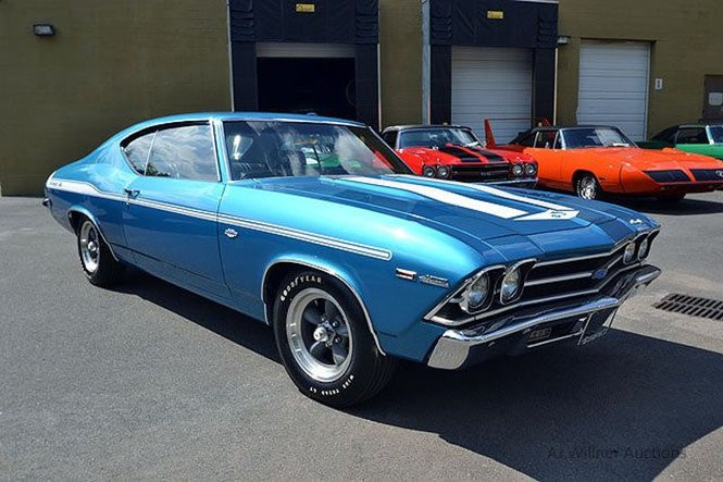 One of David Nicoll's rare and expensive Yenko Chevy muscle cars. (Thomas Zambia | NJ Advance Media file photo)