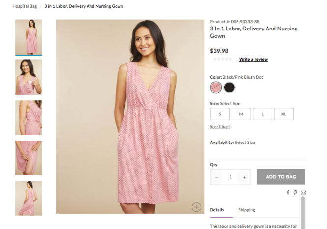 5d624555045e9 Fashionable delivery gowns for $40? Of course that's a thing. - nj.com