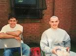 Daniel Valdez, right, with his brother, John Valdez Jr. (Courtesy of the Valdez family.)