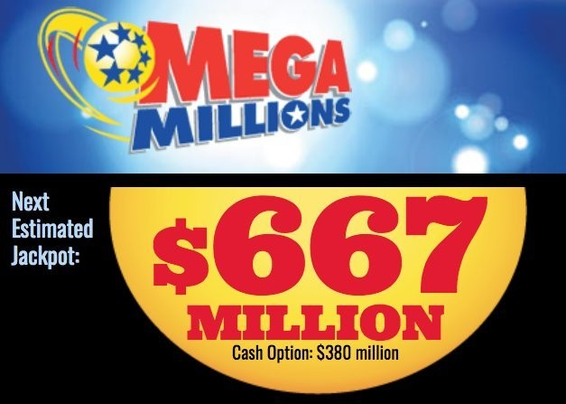 Mega Millions Lottery Did You Win Tuesday S Record 667m Drawing