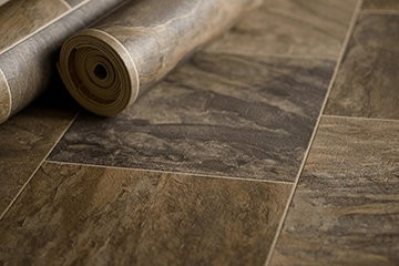 Mannington resilient flooring looks remarkably like the 'real thing' thanks to its patented NatureForm process that helps achieve the natural stone and wood looks that consumers desire in their homes.