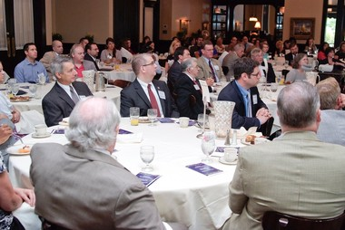 Business leaders gather for annual recognition breakfast.