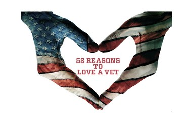 "Raritan Valley Community College in Branchburg will host an art show and reception to benefit ""52 Reasons to Love a Vet,"" April 22, at 6 p.m. The event, which is open to the public, will be held in the Conference Center at the College's Branchburg Campus. (courtesy photo)"