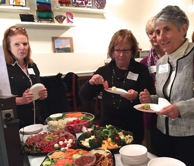 """The Somerset County Business Partnership Women in Business """"Spring Fling Cooking Demo & Tasting"""" is scheduled for Thursday, April 21, 2016 at Aurora Kitchens in Somerville. Pictured is the most recent Women in Business event. (courtesy photo)"""