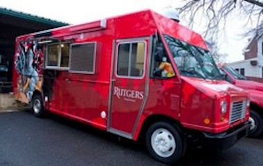Students will soon see the Knight Wagon parked on campus streets serving lunch and dinner.